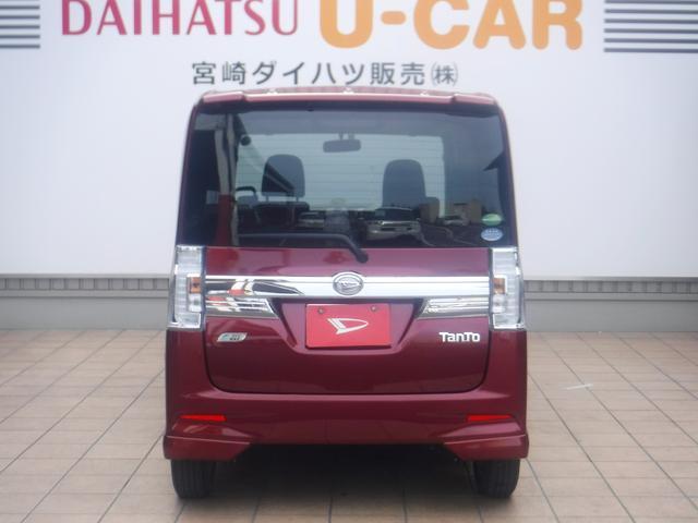 タントカスタムX SA(宮崎県)の中古車