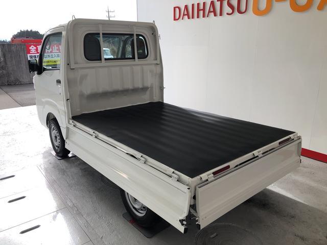 ハイゼットトラックスタンダードSAIIIt 5速MT 保証付きカラードバンパー サイドアンダーミラー付ドアミラー(助手席側) あゆみ板掛けテールゲート 荷台ステップ(平シートフック付)(静岡県)の中古車