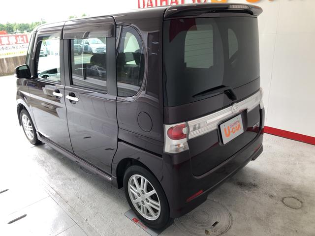 タントカスタムX ナビ 保証付きフロントフォグランプ リヤワイパー(静岡県)の中古車