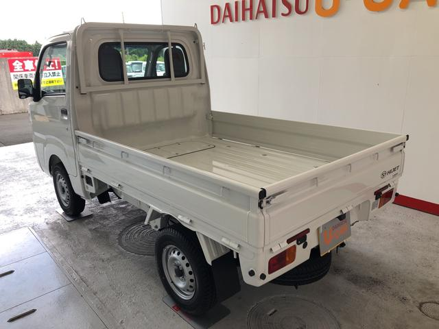 ハイゼットトラックスタンダードSAIIIt 4WD ラジオ 保証付きカラードバンパー サイドアンダーミラー付ドアミラー(助手席側)あゆみ板掛けテールゲート 荷台ステップ(平シートフック付)(静岡県)の中古車