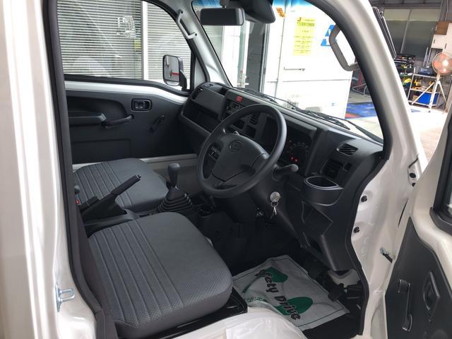 ハイゼットトラックスタンダードSAIIIt ラジオ 保証付きカラードバンパー サイドアンダーミラー付ドアミラー(助手席側)あゆみ板掛けテールゲート 荷台ステップ(平シートフック付)LEDへっどランプ(静岡県)の中古車