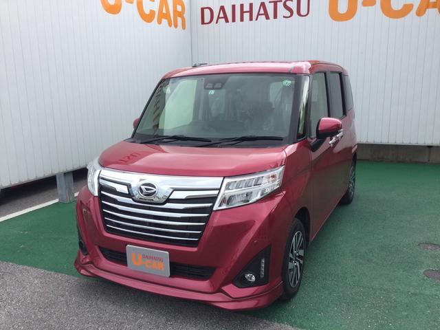 トールカスタムG リミテッド SAIIICD スマートキー ワンオーナー フル装備 ABS(沖縄県)の中古車