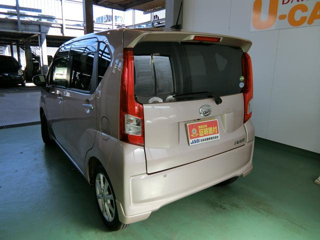 ムーヴXターボ SAIII キーフリーシステム ナビ バックカメラ(岐阜県)の中古車