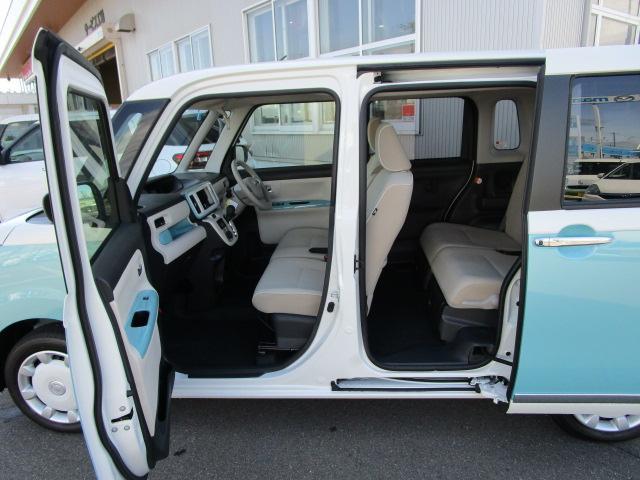 ムーヴキャンバスGメイクアップVS SAIII 4WDスマートアシスト 両側パワースライドドア LEDヘッドライト プッシュスタート アイドリングストップ VSC(横滑り抑制機能) オーディオレス オートエアコン 運転席シートヒーター(北海道)の中古車