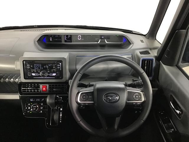 タントカスタムRSセレクション 4WDスマートアシスト 両側パワースライドドア LEDヘッドライトアイドリングストップ VSC(横滑り抑制機能) CDチューナー オートエアコン オートライト コーナーセンサー 後席テーブル アルミホイール(北海道)の中古車