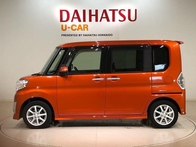 タントカスタムX 4WD ナビ(北海道)の中古車