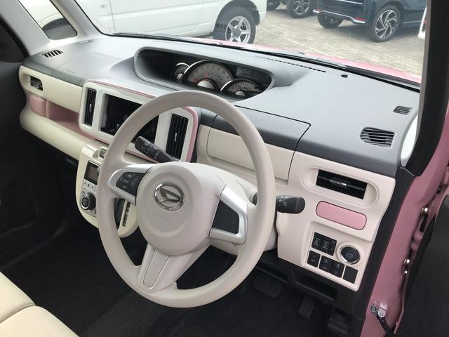 ムーヴキャンバスGホワイトアクセントVS SAIII 4WDスマートアシスト 両側パワースライドドア LEDヘッドライト アイドリングストップ VSC(横滑り抑制機能) オーディオレス オートライト オートエアコン 運転席シートヒーター(北海道)の中古車