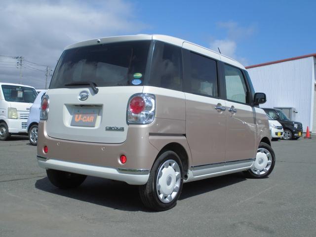ムーヴキャンバスXメイクアップリミテッド SAIII 4WD CD(北海道)の中古車