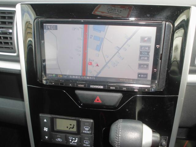 タントカスタムRS スマートセレクションSA4WD ナビ キーフリー 両側電動スライドドア 衝突被害軽減システム(北海道)の中古車