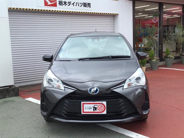 ヴィッツハイブリッドFETC 純正ナビ ワンセグ 電動ドアミラー(栃木県)の中古車