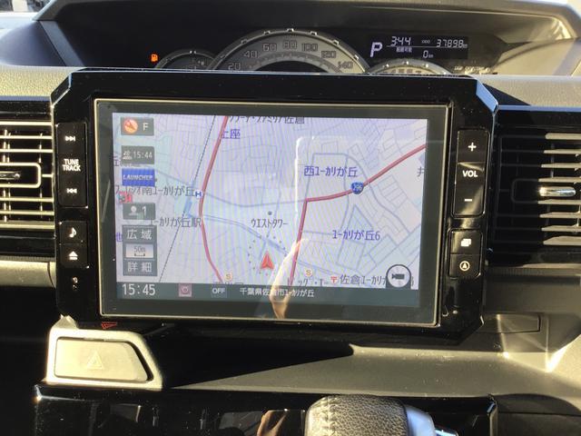 ウェイクGターボ レジャーエディションSAII自社下取車/キーフリー/リヤカーテン/純正8インチナビ(フルセグTV/Bluetooth/CD/DVD)/バックカメラ/純正前ドラレコ/純正ETC/LEDヘッドライト/LEDフォグランプ/オートライト(千葉県)の中古車