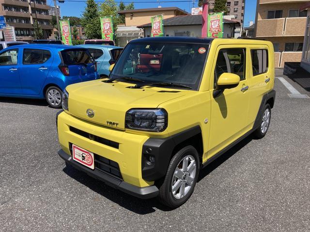 タフトGパノラマモニター対応(東京都)の中古車