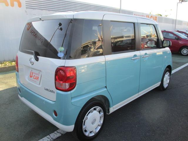ムーヴキャンバスX SAII 走行2976キロ ワンオーナー 禁煙車(埼玉県)の中古車