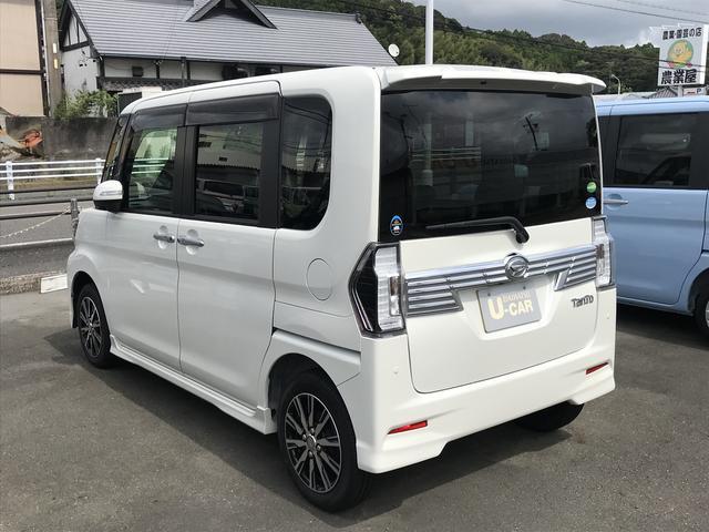 タントカスタムX トップエディションSAII(静岡県)の中古車
