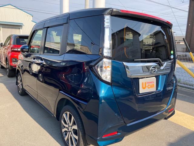 トールカスタムG ターボ SAII両側パワースライドドア ナビ ターボ 2トーンカラー スマートアシスト(静岡県)の中古車