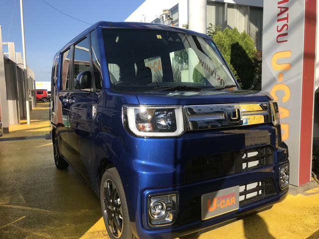 ウェイクGターボリミテッドSAIIIフロントパーソナルランプ 両側電動パワースライドドア 15インチアルミホイール(静岡県)の中古車