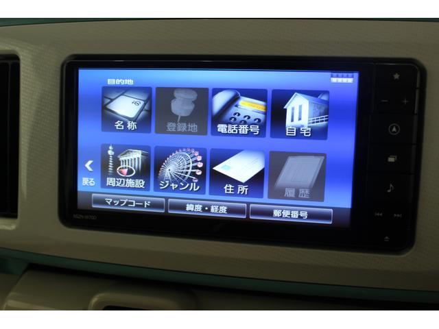 ムーヴキャンバスXメイクアップリミテッド SAIII ナビゲーション両側パワースライドドア スマアシ キーフリー&プッシュボタンスタート ナビ(滋賀県)の中古車