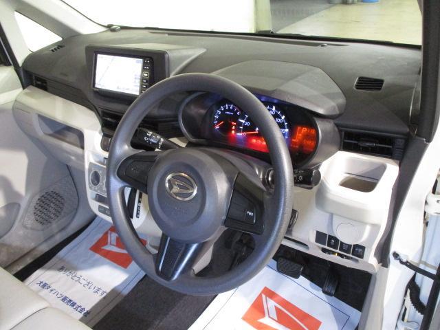 ムーヴLダイハツ純正ワンセグナビ搭載 純正ETC車載器搭載 マニュアルエアコン 電動格納ミラー ハロゲンヘッドライト キーレスエントリー(大阪府)の中古車