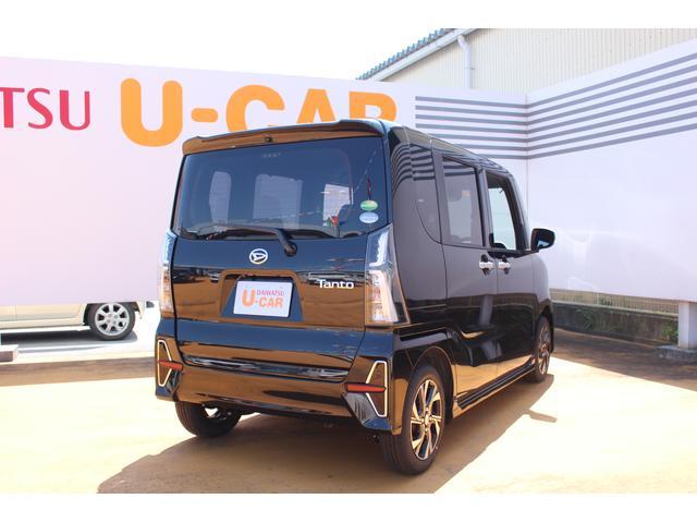 タントカスタムX スタイルパック 両側電動スライドドア UGP(滋賀県)の中古車
