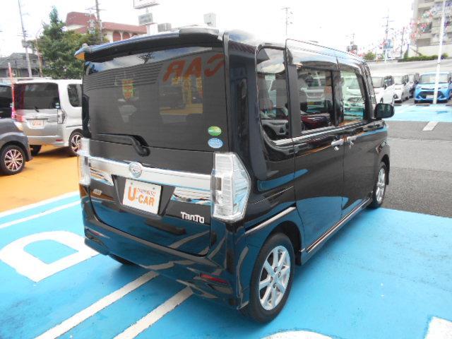 タントカスタムX CDステレオ・ドライブレコーダー・ETC(京都府)の中古車