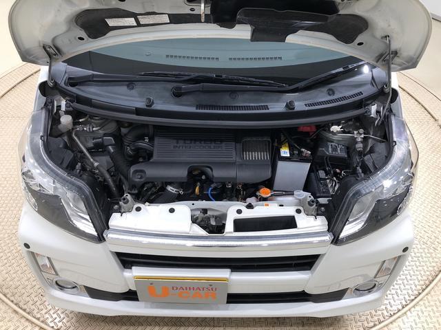ムーヴカスタム RS ターボ ナビ ETC ドラレコ付きLEDヘッドランプ・フォグランプ  15インチアルミホイール オートライト プッシュボタンスタート セキュリティアラーム(広島県)の中古車