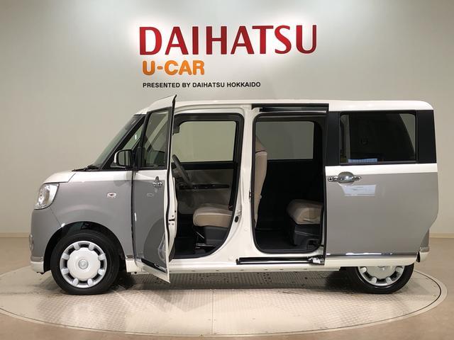 ムーヴキャンバスGメイクアップリミテッド SAIII 4WD(北海道)の中古車