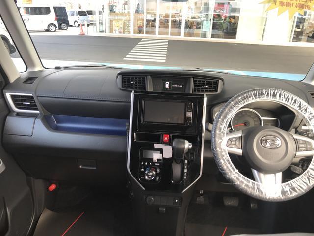 トールカスタムG ターボ SAIIフルLEDヘッドランプ 自発光式2眼メーター 本革巻ステアリングホイール(静岡県)の中古車