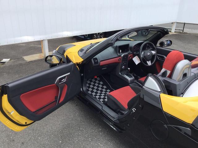 コペンエクスプレイ S LEDヘッドライトAT 走行無制限1年保証 赤RECARO シートヒーター momoハンドル ワンオーナー ターボ車(兵庫県)の中古車