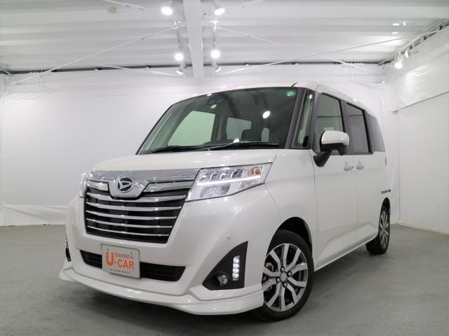 トールカスタムG ターボ SAIII デモカーUP 純正地デジナビ(埼玉県)の中古車
