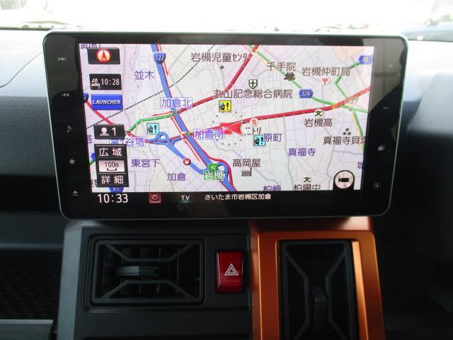 タフトGターボ デモカーUP 純正9インチナビ 前後ドラレコ(埼玉県)の中古車