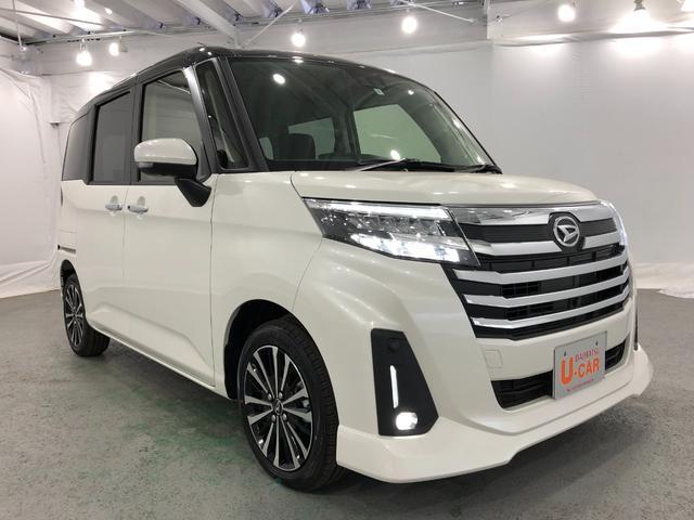 トールカスタムG ターボ デモカーUP 禁煙車(埼玉県)の中古車