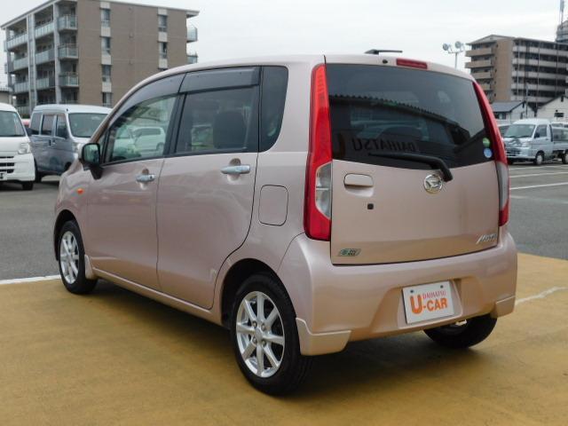 ムーヴX SA 走行距離27,552km キーフリー エコアイドル(福岡県)の中古車