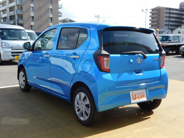 ミライースXリミテッドSAIII 走行距離4,346km バックカメラ(福岡県)の中古車