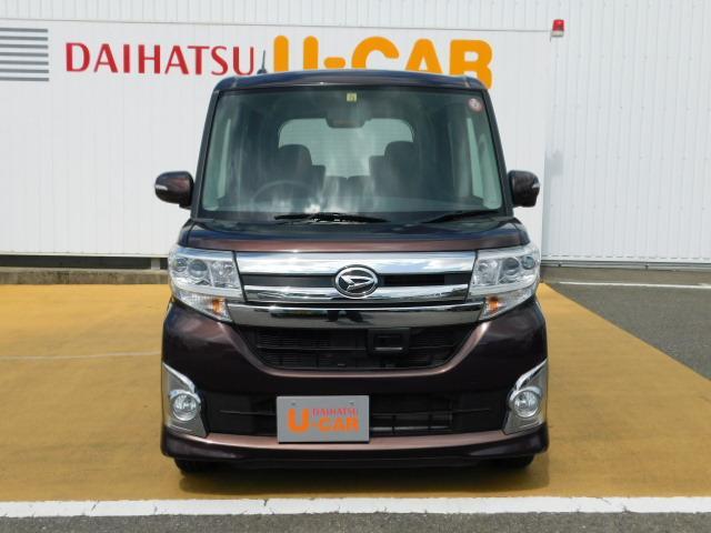 タントカスタムX SA ワンオーナー車 左右パワースライドリヤドア(福岡県)の中古車