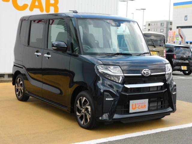 タントカスタムX 走行距離3051km 左右パワースライドリヤドア(福岡県)の中古車
