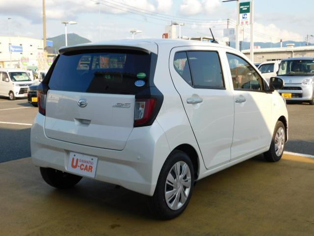 ミライースX SAIII 走行距離3,124km LEDヘッドライト(福岡県)の中古車