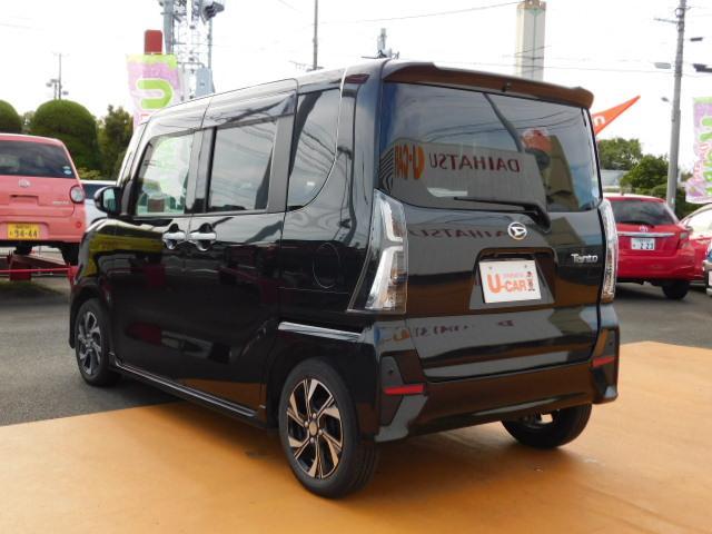 タントカスタムX パワースライドリヤドア 走行距離14,510km(福岡県)の中古車
