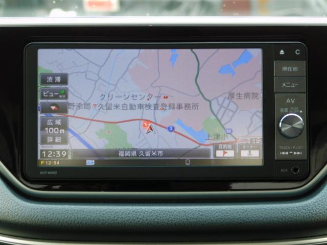 ムーヴカスタムRSワンオーナー車 フルセグ内蔵メモリーナビ バックモニター LEDヘッドライト キーフリー 走行距離45,995km(福岡県)の中古車