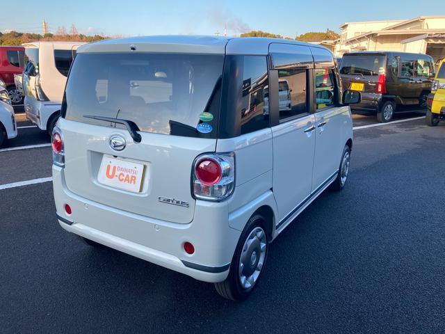 ムーヴキャンバスGメイクアップリミテッド SAIII両側パワースライドドア パノラマモニター対応(大分県)の中古車