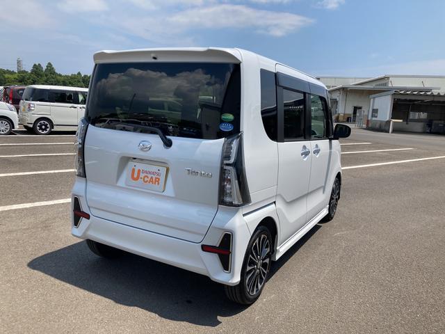 タントカスタムRSセレクションターボ車 両側パワースライドドア シートヒーター パノラマモニター対応(大分県)の中古車