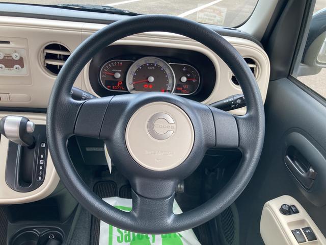 ミラココアココアX運転席シートリフター パワーウィンドウ 純正CDオーディオ アイドリングストップ機能(大分県)の中古車