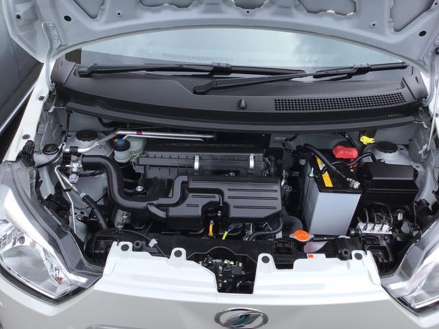 ミライースL SAIII パールホワイトコーナーセンサー/キーレスエントリー付(福島県)の中古車