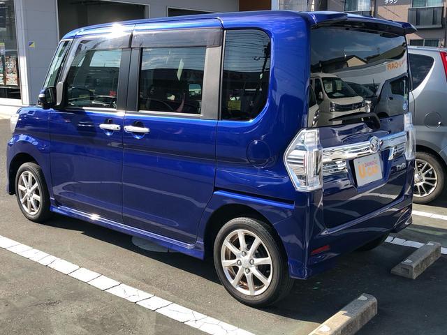 タントカスタムX 8インチナビ バックカメラ 片側スライドドア(山口県)の中古車