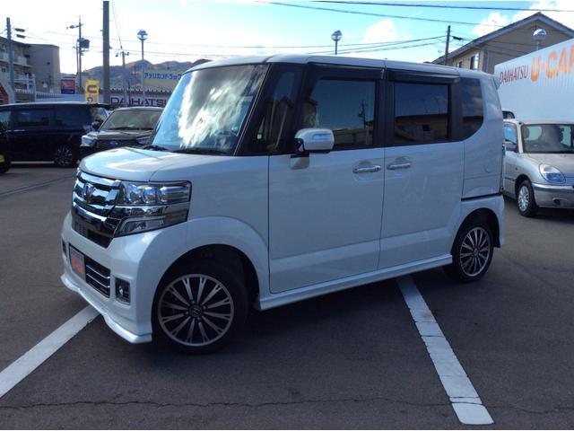 N−BOXカスタムG・ターボLパッケージ(長野県)の中古車