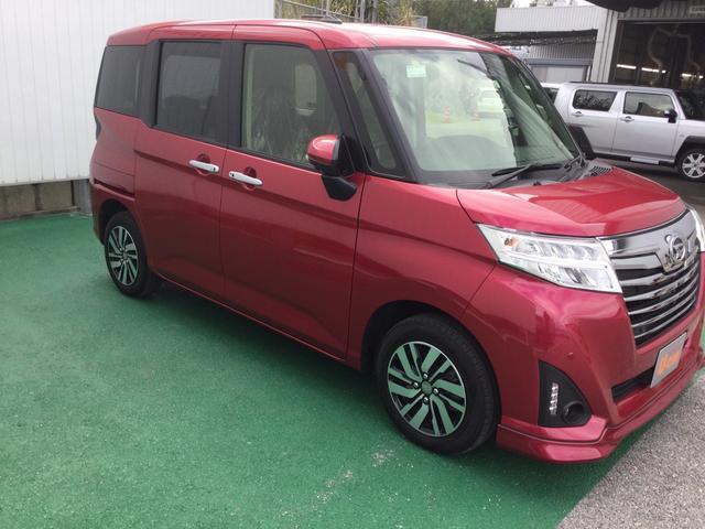 トールカスタムG リミテッド SAIII(沖縄県)の中古車