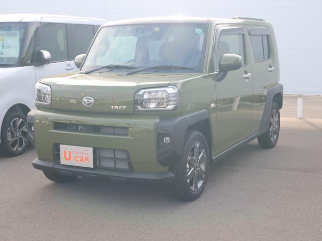 タフトGターボ  4WD(長野県)の中古車