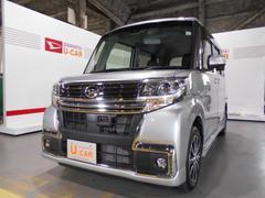 タントカスタムX トップエディションSAII★ダイヤトーンナビ付