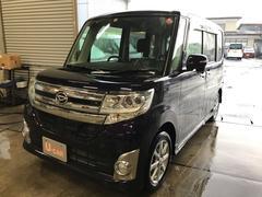 タントカスタムX SA 4WD LEDヘッドライト 車検整備付