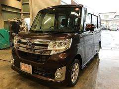 タントカスタムX SA 4WD 純正ナビ 車検整備付