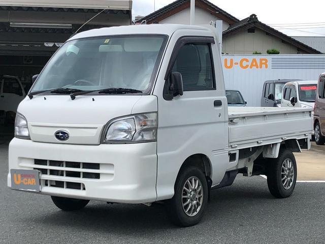 サンバートラックTB 5速MT車 4WD エアコン・パワステ(山口県)の中古車